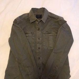 Crinkled shirt